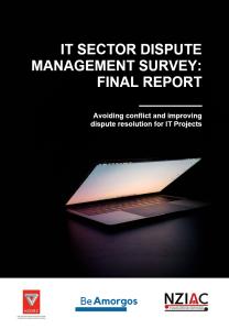 IT Disputes Report